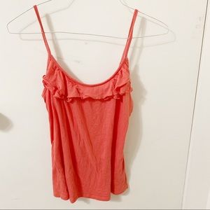 5/$25✨Old Navy ruffle tank top